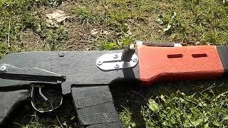 Как сделать автомат Калашникова ( АК-47 )