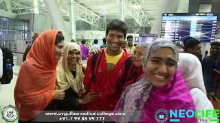 Students departure to Uv Gullas College of Medicine  - MBBS in Philippines top medical college