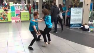 Fragile X Syndrome Awareness Day Flash Mob No2 Aberdeen