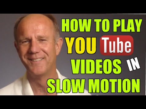 How To Play YouTube Videos In Slow Motion - Tutorial