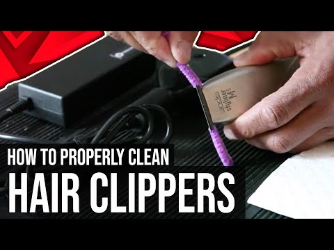 How To Thoroughly Clean Your Hair Clipper in 60 Seconds or less