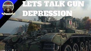 Gun Depression & It's Impact - World of Tanks Blitz