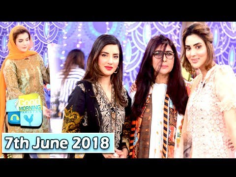 Good Morning Pakistan - Fiza Ali & Kiran - 7th June 2018 - ARY Digital Show
