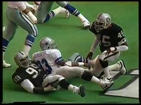 NFL - 1986 Season - Dallas Cowboys VS Los Angeles Raiders - 1st Half imasportsphile.com
