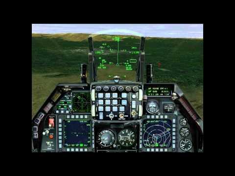 F-16 CCIP Raid on SA-10 Site Falcon 4 Allied Force