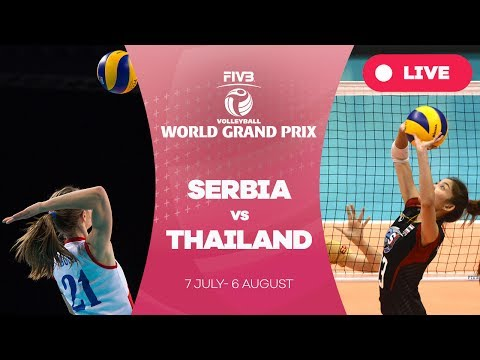 Serbia v Thailand - Group 1: 2017 FIVB Volleyball World Grand Prix