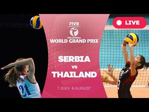 Serbia v Thailand - Group 1: 2017 FIVB Volleyball World Grand Prix