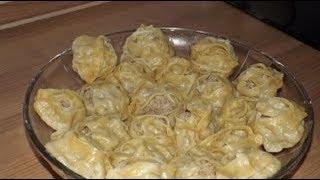 Ну, Очень вкусные, домашние манты с картошкой! EDILKA. Домашняя кухня - рецепты на каждый день.