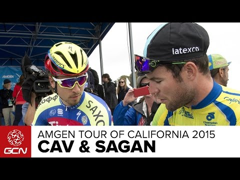 Mark Cavendish Vs. Peter Sagan –Two Greats On Their Rivalry | Amgen Tour Of California 2015