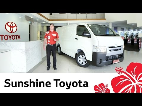 2014 Toyota Hiace - Video review by Sunshine Toyota