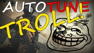 Auto Tune Trolling on Black Ops 2 [Very Funny]