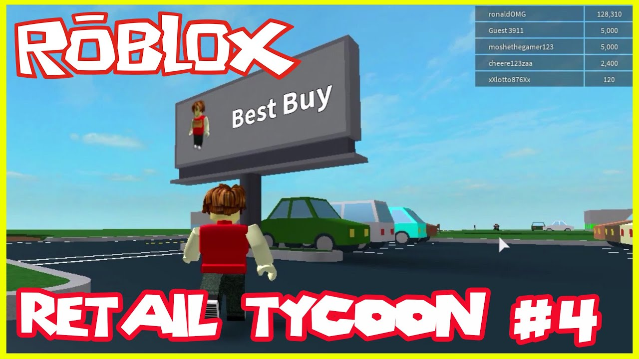 Roblox - RETAIL TYCOON - Fast MONEY making with ...