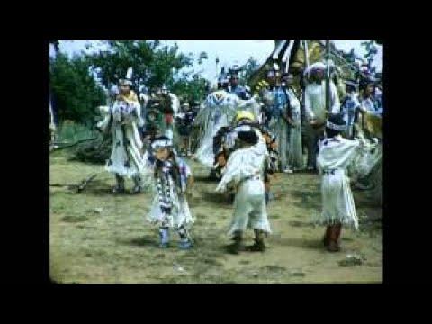American Indian Dances at Indian City USA. Circa 1950s