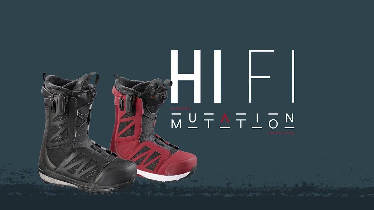 Salomon Sideways Science - Hi-Fi Snowboard Boot - YouTube 42a2f0e73b6e