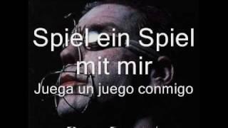 Rammstein - Spiel mit mir (Letras Alemán - Español)