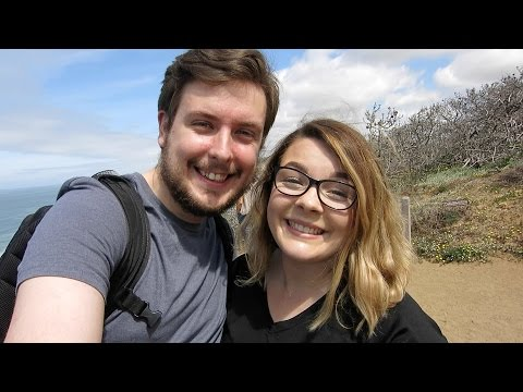 Exploring Torrey Pines and Seaport Village in San Diego!! | Mike & Steph