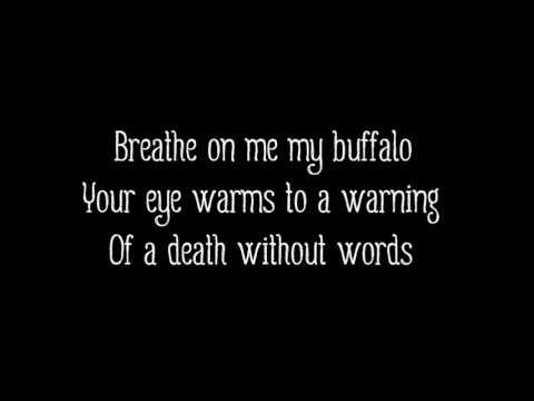 Alt-J (∆) - Buffalo feat. Mountain Man (Lyrics on Screen)