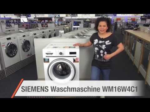 siemens waschmaschine wm16w4c1 angebot der woche youtube. Black Bedroom Furniture Sets. Home Design Ideas
