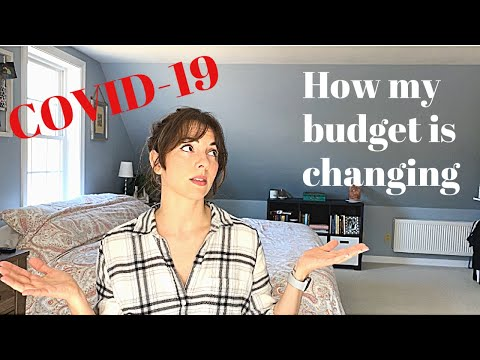 How My Budget Is Changing + Prepping For Unemployment | The Pixie Planner