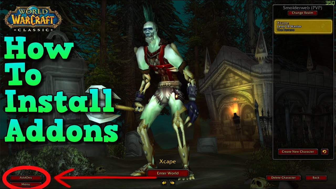 Wow Classic #1 AddOn For Leveling Questie How To Install