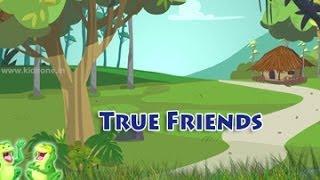 Los Verdaderos Amigos | Inglés| Animación Moral De La Historia Para Los Niños || KidsOne