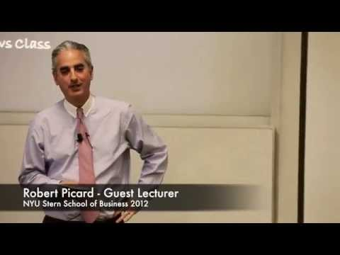 Robert Picard NYU Stern Business School Lecture Hedge Fund Strategies