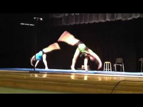 Talent show gymnastics 2014