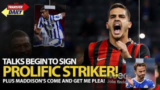 Talks Begin To Sign Prolific Striker | AFTV Transfer Daily LIVE