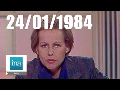 20h Antenne 2 du 24 janvier 1984 - Naufrage d'un cargo dans la Manche | Archive INA