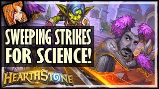 Weird Interactions With Sweeping Strikes - Rise of Shadows Hearthstone