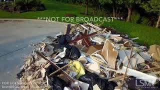 9-2-2017 Houston, TX - Harvey Cleanup Aerial Video