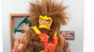 CUSTOM 200X GRIZZLOR fixing the horrible classics design  Masters of the universe classics by HKC