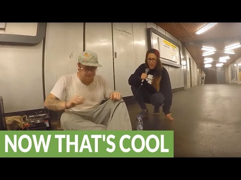 Incredible subway improv performance in Berlin