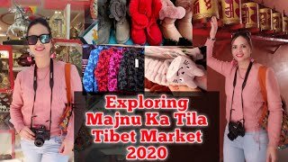 Majnu ka tila delhi market 2020 | tibet in full explore clothes, jewellery,food etc #market #majnukatila #tibetmarket #exploremajnukatila #foo...