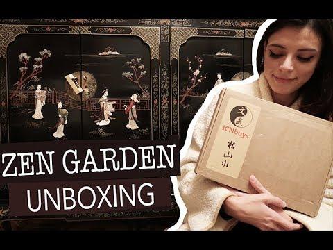 ASMR | Relaxing Zen Garden Unboxing (ft. ICNbuys)