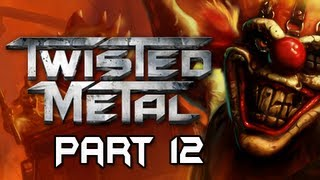 Twisted Metal Gameplay Walkthrough - Part 12 Iron Maiden Battle Dead Man's Crossing