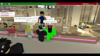 Trolling at DDs #1 w/ Roblox Minigunner and Turntable5000
