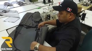 How Saddleman Seat Covers are Made