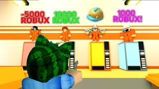 SHOOT A GOOD PRISONER = WIN ROBUXY! ROBLOX w/Mendi