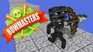 Monster School BOWMASTERS CHALLENGE Minecraft Animation