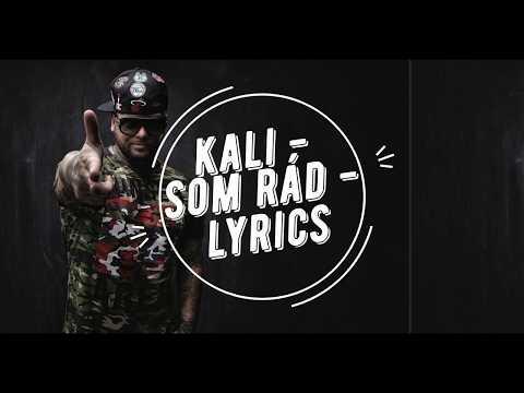 Kali - Som rád - Lyrics / Text