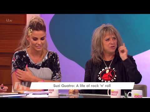 Suzi Quatro Fancied David Essex | Loose Women