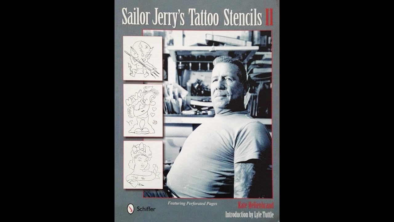 sailor jerrys tattoo stencils