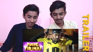 REACTION ON | Natpe Thunai | Trailer | by AS Presents