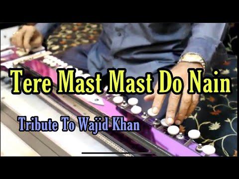 Tere Mast Mast Do Nain [ Tribute To Wajid Khan } Banjo Cover Ustad Yusuf Darbar