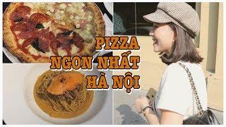 Ăn Pizza ngon nhất Hà Nội , Gia Đình Cam Cam Vlog 51
