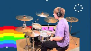Nyan Cat on drums! 2 (Alex S. Dubstep Remix)