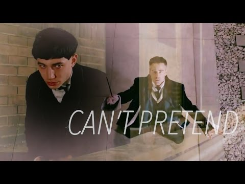 Credence Barebone/Percival Graves || And I wanna fight, But I can't contend