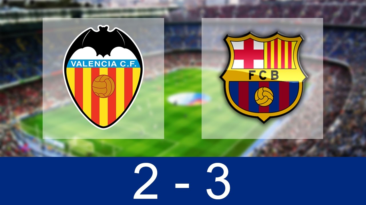Download Valencia vs Barcelona 2-3 | All Goals and Highlights 22/10/2016 [HD]