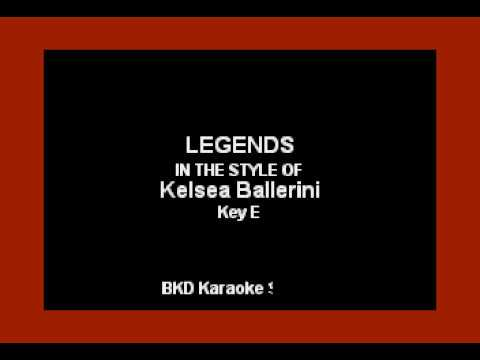 Legends (In the Style of Kelsea Ballerini) (Karaoke with Lyrics)